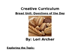 Creative Curriculum Bread Unit: Question of the Day