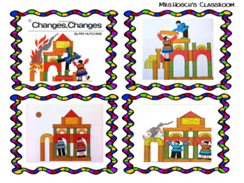 "Creative Curriculum Building Study:Story Retell ""Changes, Changes""-Pat Hutchins"