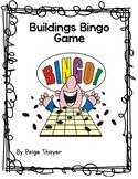 Creative Curriculum Buildings Bingo Game