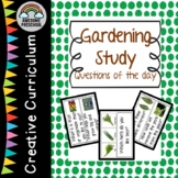 Creative Curriculum - Gardening Study - Question of the day