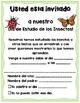Creative Curriculum Insect Study Day Invitations