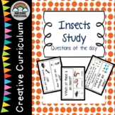 Creative Curriculum - Insects Study - Question of the day