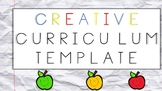 Creative Curriculum Lesson Plan Template