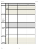 Creative Curriculum Preschool Lesson Plan