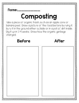 Creative Curriculum Recycling Activities