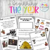 Creative Curriculum Teaching Strategies Gold Beginning the Year