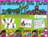Creative Curriculum Teaching Strategies Gold Beginning the Year Anchor Chart