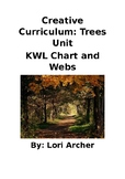 Creative Curriculum: Tree Unit KWL Chart and Weekly Webs