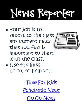 Creative Daily Jobs with an iPad in the Grades 3-5 Classroom
