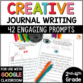 Journal Prompts for 2nd, 3rd, and 4th Grade
