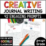 Daily Journal Prompts | Google Option | Journal Writing Prompts 2nd-4th Grade