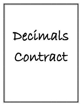Creative Decimal Tasks