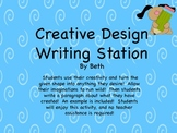 Creative Design Writing Station