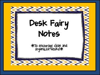 Creative Desk Fairy Notes