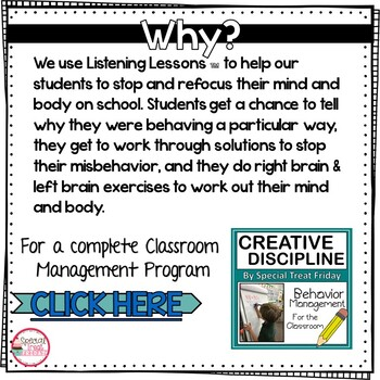 Creative Discipline Listening Lessons