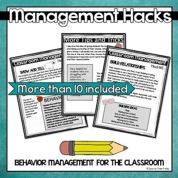 Classroom Management and Creative Discipline