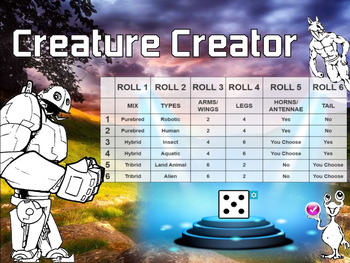 Creative Drawing for Middle & Elementary Art: Creature Creator