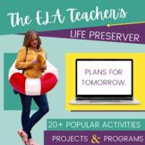 ELA Curriculum Bundle: The English Teacher's Life Preserver