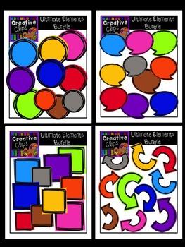 Creative Elements {Creative Clips Digital Clipart}