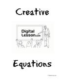 Creative Equations Project