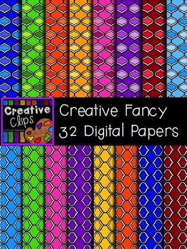 Creative Fancy Papers {Creative Clips Digital Clipart}