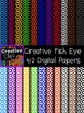Creative Fish Eye Papers {Creative Clips Digital Clipart}