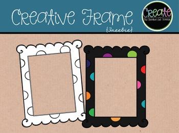 Creative Frames {Freebie} - Digital Clipart