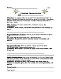 Creative Game Outline for Wellness and Physical Education