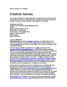 Creative Games