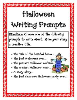 Creative Halloween Writing Prompts