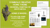 Creative Home Painting, Drawing, or Mixed Media Art Project