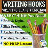 Writing Leads Writing Hooks   Creative Hook Introduction   Print and Digital