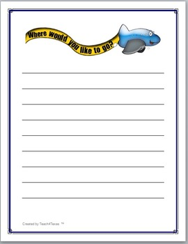 Creative Imagination Writing Prompt Pages
