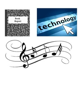"Creative Independent Novel ""Report"" incorporating thematic music and technology"