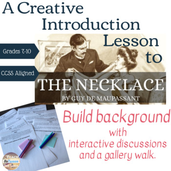 "Creative Introduction to ""The Necklace"" by Guy de Maupassant."