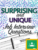 Surprising and Unique Job Interview Questions - Special Ed