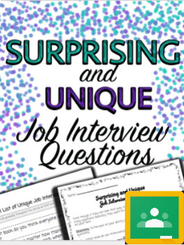 Surprising & Unique Job Interview ?'s - Special Education