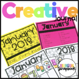 Creative Journal (Monthly Doodle Challenge)