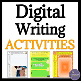 Creative Writing and Mentor Sentences Google Drive Digital