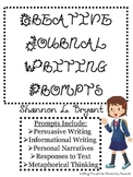 Creative Journal Writing for the Elementary Grades