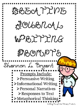 Creative Journal Writing for the Primary Grades