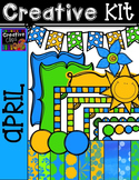 Creative Kit: APRIL {Creative Clips Digital Clipart}