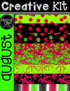 Creative Kit: AUGUST {Creative Clips Digital Clipart}