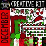 Creative Kit: DECEMBER {Creative Clips Digital Clipart}