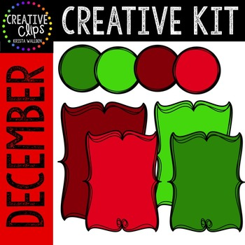 Creative Kit: DECEMBER {Creative Clips Digital Clipart}