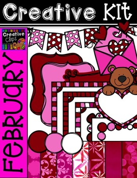 Creative Kit: FEBRUARY {Creative Clips Digital Clipart}
