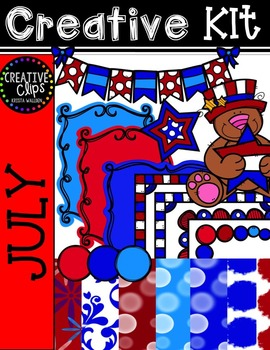 Creative Kit: JULY {Creative Clips Digital Clipart}