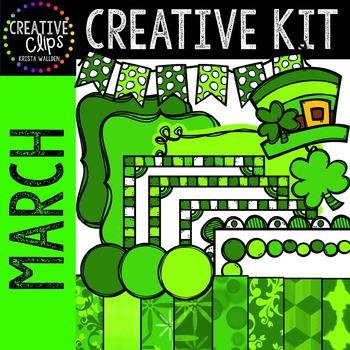 Creative Kit: MARCH {Creative Clips Digital Clipart}