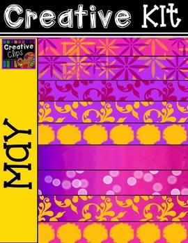 Creative Kit: MAY {Creative Clips Digital Clipart}
