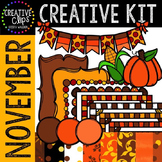 Creative Kit: NOVEMBER {Creative Clips Digital Clipart}